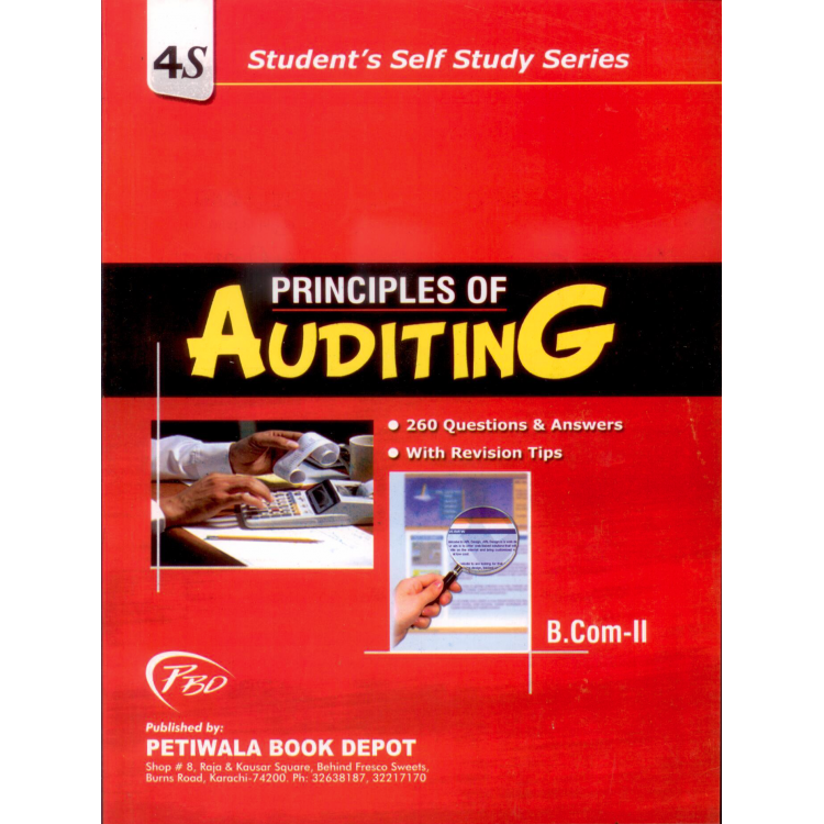 Principle of Auditing for b com part 2